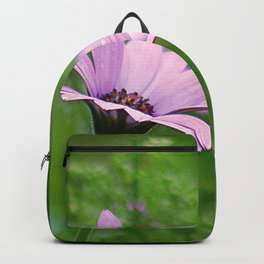 Pink Daisy Photo Backpack