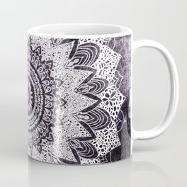 BOHOCHIC MANDALA IN PURPLE Kaffeebecher