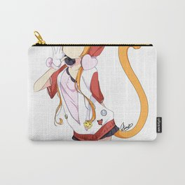 Punky Catgirl Carry-All Pouch