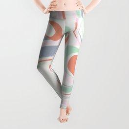 Abstract print design Leggings