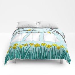 spring clean Comforters