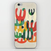 cactus iPhone & iPod Skins featuring Cactus by Picomodi