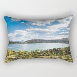 Averno lake,Capania,Italy Rectangular Pillow