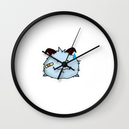 poro fighter Wall Clock