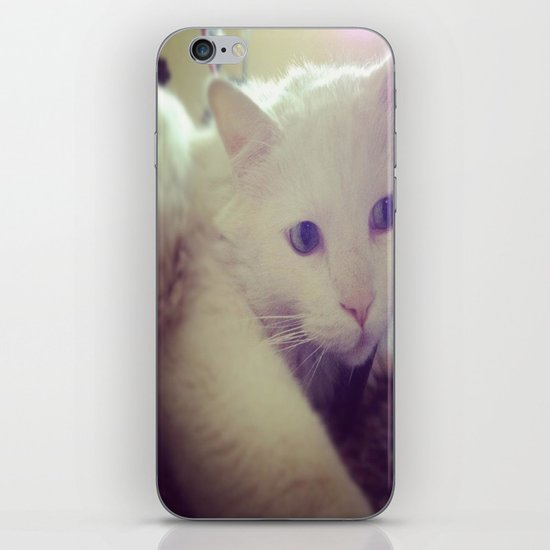 talk to the left because I am looking to my right iPhone & iPod Skin