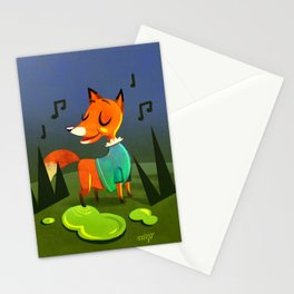 Foxie Stationery Cards