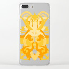 Abstraction Eleven Artemis Clear iPhone Case