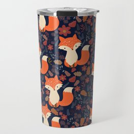 fox in foliage Travel Mug