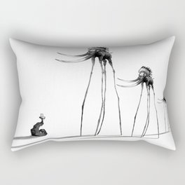 Rise of The Mammoths Rectangular Pillow