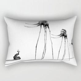 Rise of The Mammoths Rectangular Pillow