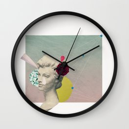 you can't connect the dots looking forward Wall Clock