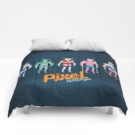 Saint Seiya - Pixel Nostalgia Comforters