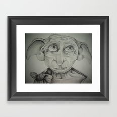 Free Elf Framed Art Print