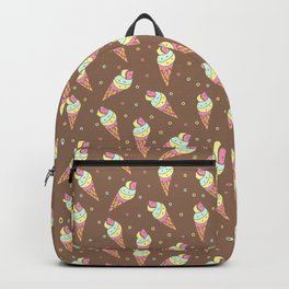 Pattern design with hand drawn elements Backpack