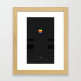 Apple Retro Framed Art Print