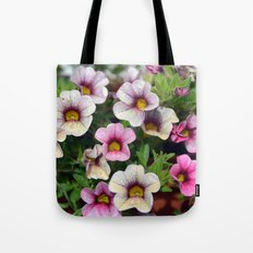 Floral summer cocktail Tote Bag