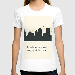 Harry Styles Ever Since New York illustration T-shirt