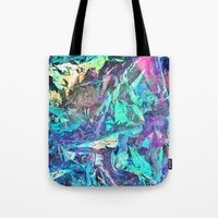 holographic Tote Bags featuring Holographic II by Nestor2