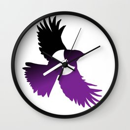 Sparrow - Lesbian flag Wall Clock
