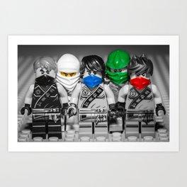 Ninjago Crew Art Print