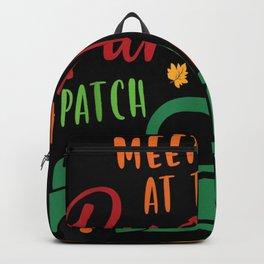 Meet Me at the Pumpkin Patch Halloween Backpack