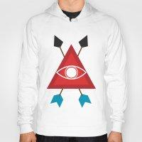 illuminati Hoodies featuring Illuminati by Lucas de Souza