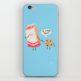 Cookie Loves Milk iPhone Skin