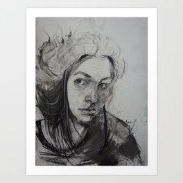 Emily #9  Art Print