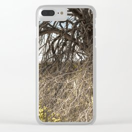 Tree Of Life 7328 Joshua Tree Clear iPhone Case