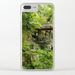 Tucked Away in Nature Clear iPhone Case