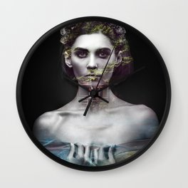 Home portrait nature Wall Clock