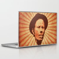 tom waits Laptop & iPad Skins featuring Waits by Durro