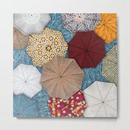Natural Umbrellas Metal Print