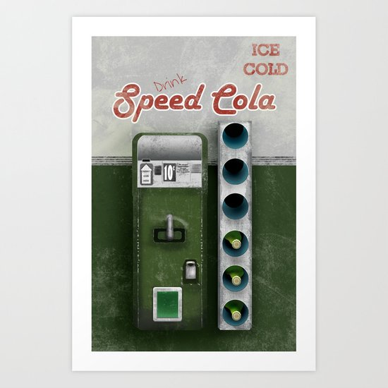 Speed Cola Art Print