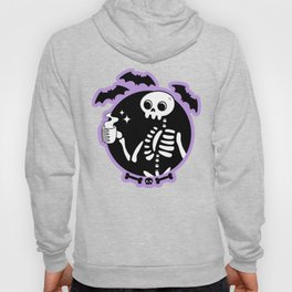 Death Before Decaf // Purple Hoody