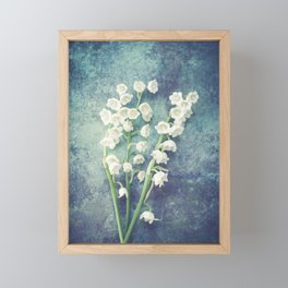 Lily Of The Valley II Framed Mini Art Print