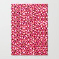 Pixel Art 3 Canvas Print