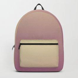 UNRIPE EGGPLANT - Minimal Plain Soft Mood Color Blend Prints Backpack