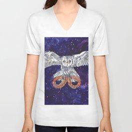 Owl & Snake Unisex V-Neck