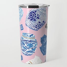Chinoiserie Curiosity Cabinet Toss 5 Travel Mug