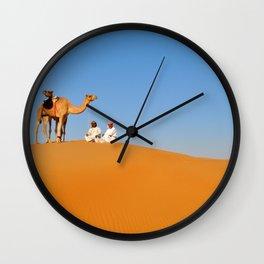 Desert Walk Wall Clock
