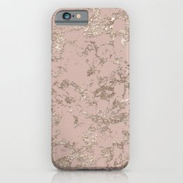 Blush Pink Marble iPhone Case