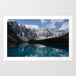 Moraine Lake Reflections Art Print