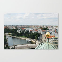 View from the Berlin Cathedral Canvas Print