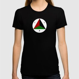 Afghanistan country roundel T-shirt