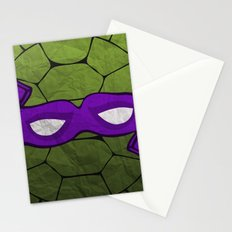 the purple turtle Stationery Cards