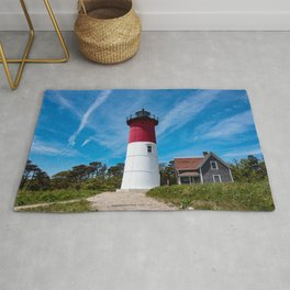 Nauset Lighthouse- Cape Cod, Massachusetts Rug