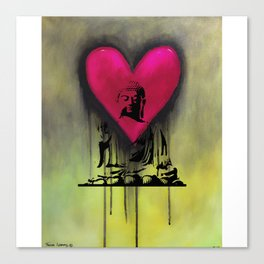 Buddha of Love Canvas Print