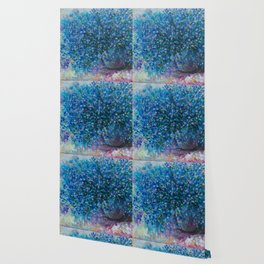 Bouquet Of Forget Me Nots by Lena Owens Wallpaper