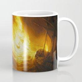 Fireship Attack on the Spanish Armada Coffee Mug